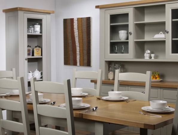 Charltons Bretagne Furniture   Modern Natural Lacquered And Painted Oak  Dining Room Furniture