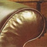 Contrast Upholstery Beaulieu Sofa arm in Old Saddle Brown leather