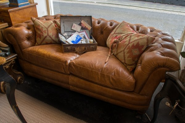 Tetrad Chatsworth Sofa on display in our Southport furniture showrooms