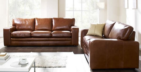 Bon The Sofa Collection Bronx Premium Leather Sofa By Forest Sofa