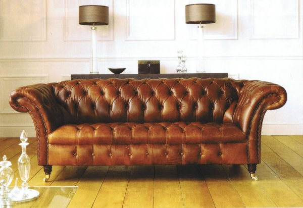 5e50826eca07 The Sofa Collection Balmoral Vintage Leather Sofa by Forest Sofa