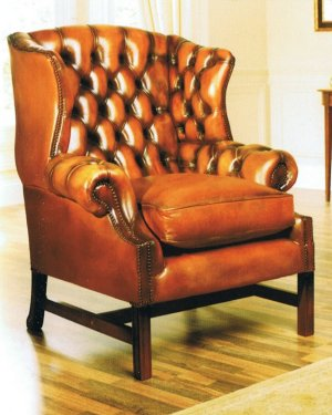 The Sofa Collection Viscount Vintage Leather Chair By Forest Sofa