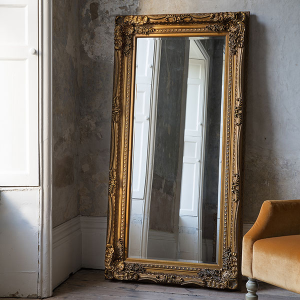 Gallery Direct Outlandish Large Wall Mirrors Leaner Mirrors