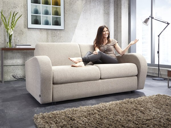 Amazing Jay Be Fabric Sofa Beds Folding Guest Beds Complete Home Design Collection Barbaintelli Responsecom