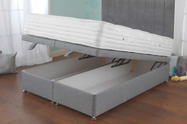 Sweet dreams furniture sweet dreams beds eden collection for Grey divan bed with drawers