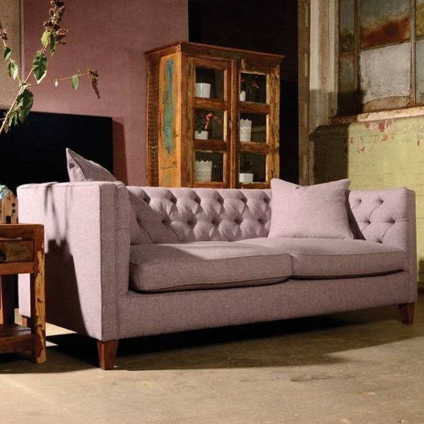 Contrast Upholstery Battersea Sofa by Tetrad