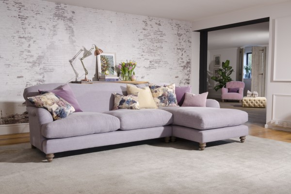 FF Collection by Tetrad Ruffle Corner Group Sofa