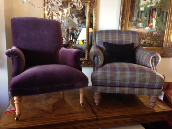 Tetrad Fabric Chairs And Mixed Leather And Fabric Chairs