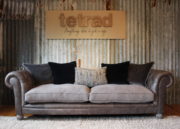 Fine Tetrad Mixed Leather Fabric Sofas Constable Westchester Beutiful Home Inspiration Xortanetmahrainfo